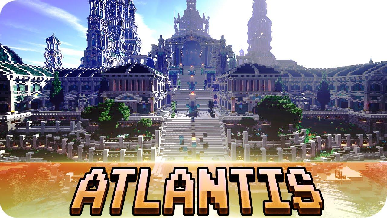 minecraft atlantis city huge creation cinematic youtube