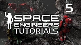 Space Engineers: TUTORIALS - 05 - Ore Refining and Components