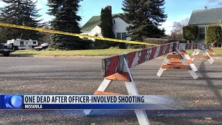 One person dies after shooting involving Missoula police