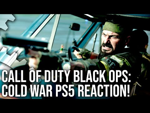 Call Of Duty Black Ops Cold War Playstation 5 Trailer Reaction Youtube