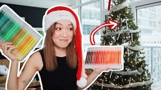 Decorating My Christmas Tree with STATIONERY?! thumbnail