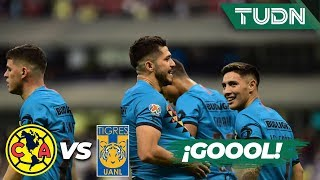 ¡Goool de Henry Martín con asistencia de Giovani! | América 1 - 0 Tigres | Liga Mx CL 2020 J2 | TUDN