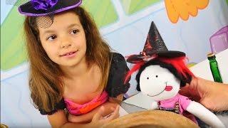 Кем хочет стать кукла Маша?  Маленькая Ведьмочка Кати - Мультики для девочек
