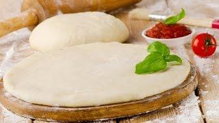Тесто для пиццы // Простой и быстрый рецепт;)