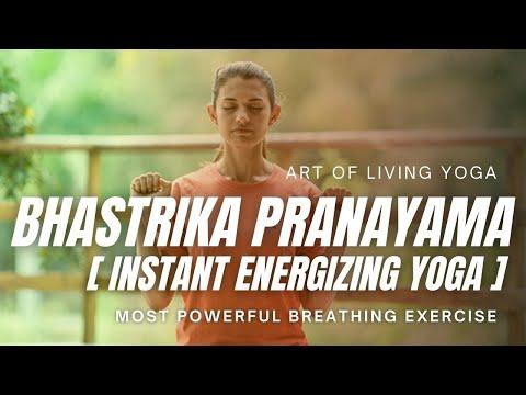 Bhastrika Pranayama Yoga - Breathing technique