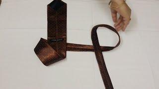 टाई बांधने का सबसे आसान तरीका / How to make Tie / How  to Tie a Tie in 10 Seconds / टाई कैसे बांधे .