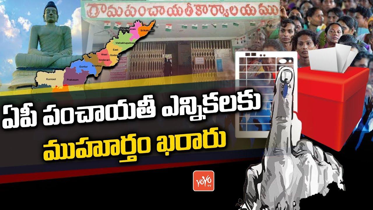 Gram Panchayat Elections Gets Green Signal In AP-Telugu Breaking News Today-11/15