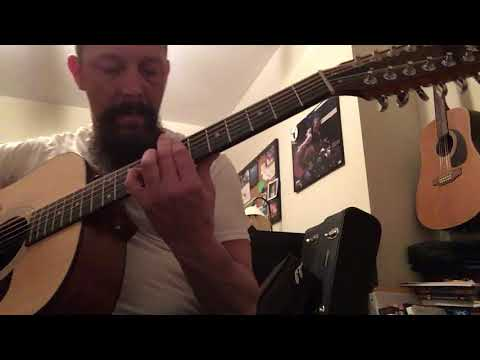 Led Zeppelin - Kashmir Take-2 on my Taylor 12-String