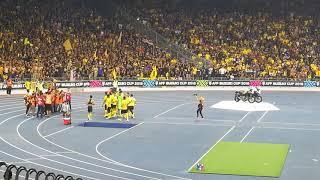Suasana selepas game Malaysia vs Myanmar...