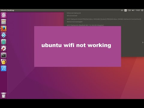ubuntu 17 4 wi-fi not working