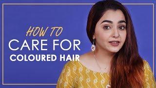 Hair Care Tips For Coloured Hair | BeBeautiful