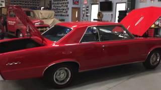 1965 Pontiac GTO 389 trips/4speed - For sale at www.bluelineclassics.com