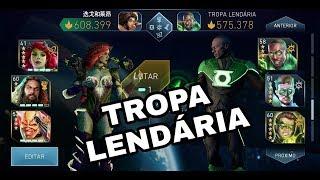 INJUSTICE 2 DIEGO GAMES vs TROPA LENDÁRIA