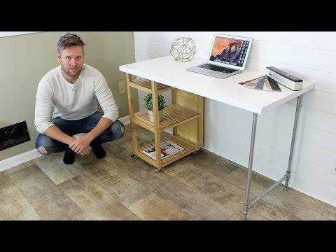 IKEA HACK - Computer Desk DIY Project