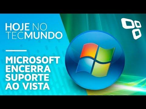 Microsoft encerra suporte ao Vista - Hoje no TecMundo