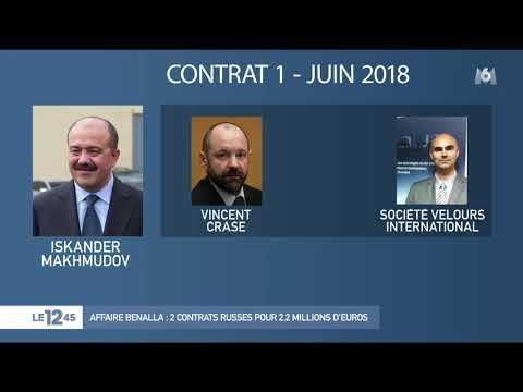 Affaire Benalla : 2 contrats russes pour 2.2 millions d'euros