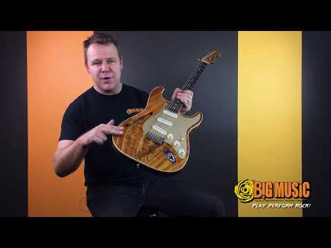 Fender Custom Shop 2017 Artisan Thinline Koa Stratocaster - Custom Video Demo Request