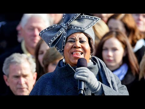 Aretha Franklin Sings 'My Country, 'Tis of Thee' at Obama's Inauguration