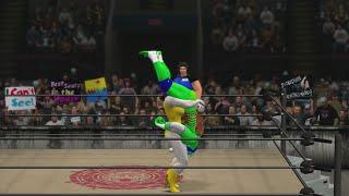 WIWA Wrestling Match #134: Leonardo vs Lady Legasus