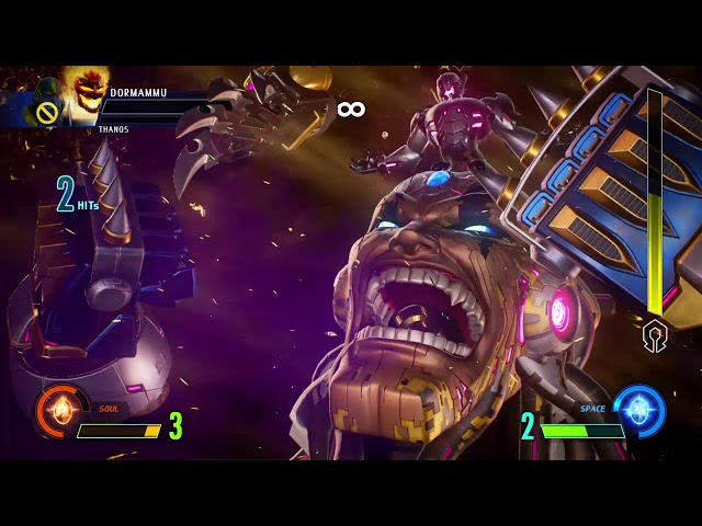 MVC Infinite Thanos- Dormammu FINAL BOSS