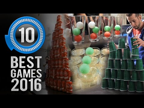 Minute to Win It: The 10 Best Games of 2016