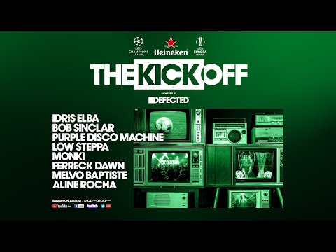 Heineken and UEFA presents the opening party powered by Defected