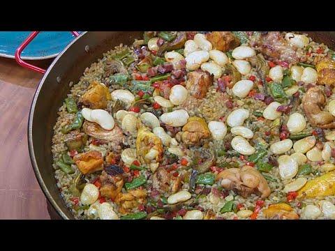 Torres en la cocina receta de paella valenciana youtube for Cocina valenciana