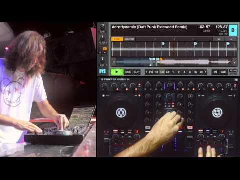 """""""Phenomena"""" DJ Routine on TRAKTOR KONTROL S4 by Ean Golden"""