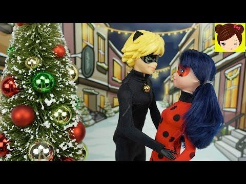 Ladybug y Cat Noir: Especial de Navidad - Ladybug Salva la Navidad - Anti-Noel  Episodio con Muñecas
