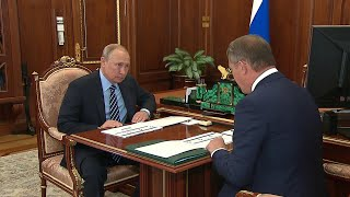 Развитие Башкирии обсудил Владимир Путин с временно исполняющим обязанности главы региона.