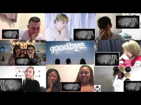 2NE1 - Goodbye Crying Reaction Mashup