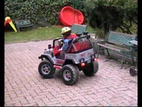 voiture 4×4 gaucho rockin peg perego