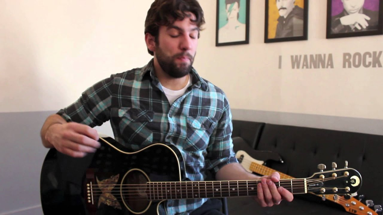 Fitz And The Tantrums The Walker Guitar Chords Lesson By Shawn
