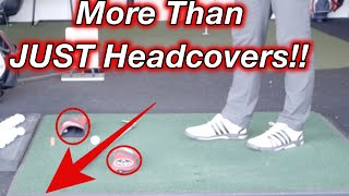 THE Best Drill to stop you slicing the golf ball - Headcovers!!