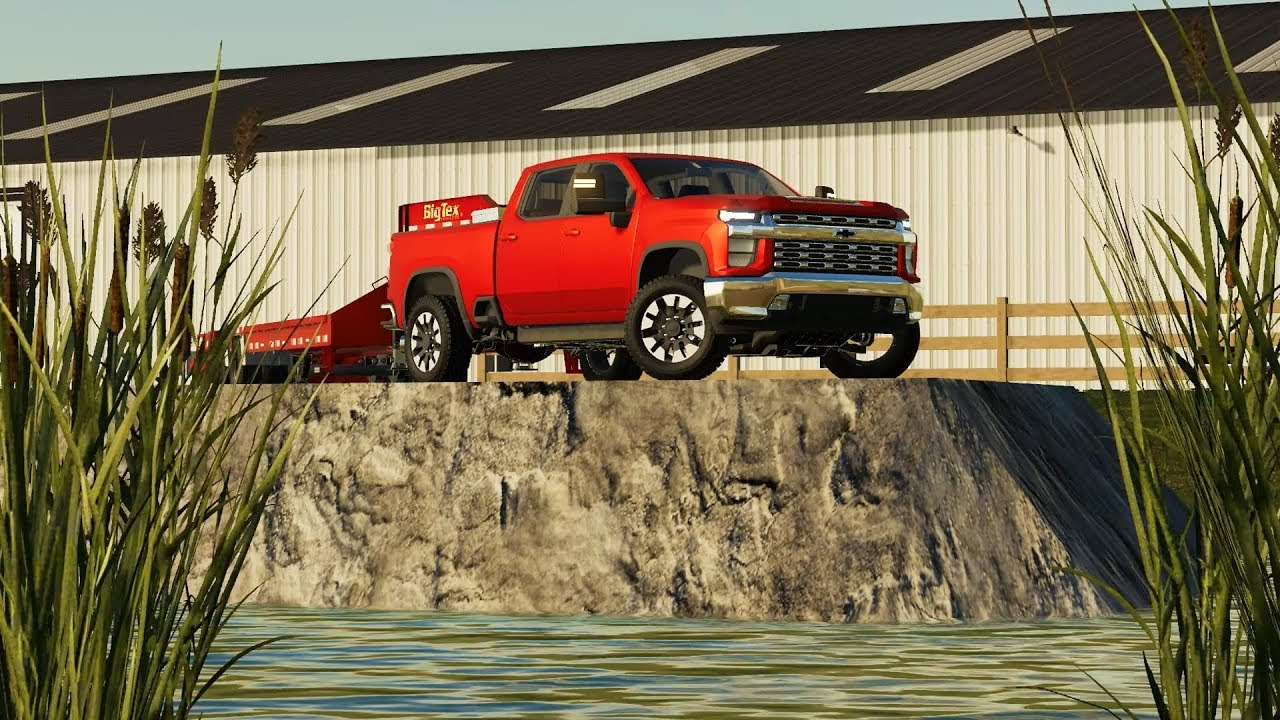 FS19- KING CHEVY! FIRST EVER 2020 CHEVY DURAMAX 2500HD FROM THE FACTORY (RCC) - YouTube