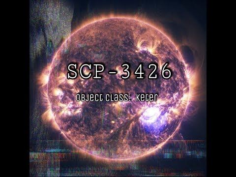 SCP-3426 | A Spark Into The Night | Object Class: Keter
