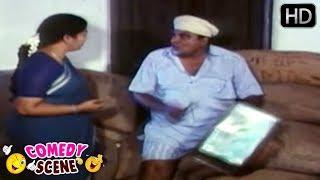 Doddanna Deepavali Comedy Scenes | Kannada Comedy Videos | Challenge Gopalakrishna Kannada Movie