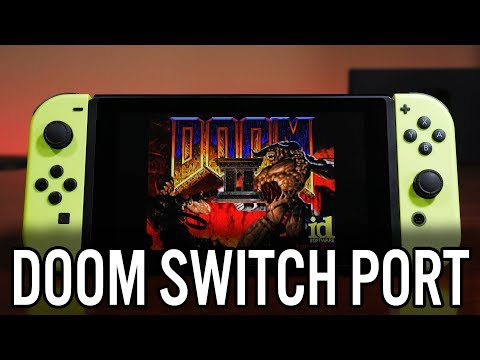 I ported DOOM to the Nintendo Switch in 45 minutes ! | MVG
