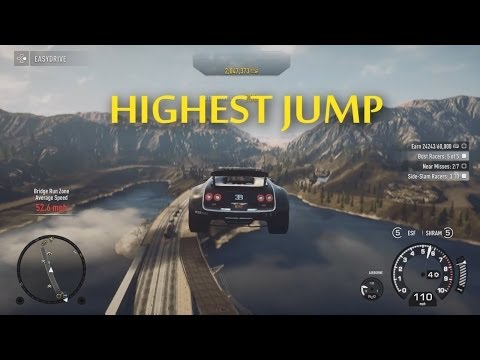 Hidden Biggest Jump In Need For Speed: Rivals