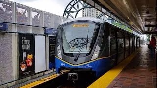 New Test Train - Vancouver Skytrain MK III (Bombardier Innovia Metro 300 ART)  #401-404