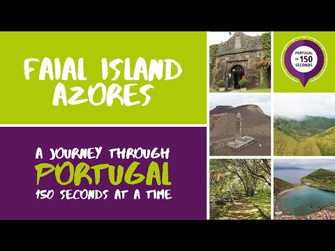Portugal In 150 Seconds: Cities & Villages - Faial Island, Azores