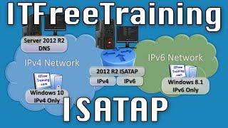IP Transition Demonstration ISATAP Windows