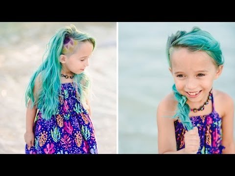 Mom Defends Letting Her 6-Year-Old Daughter Dye Her Hair Unicorn Colors