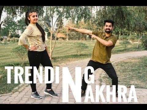 Bhangra On Trending Nakhra | Amrit Maan | Couple Bhangra