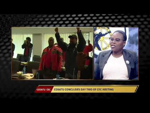 PrimeTime: Cosatu concludes day two of Central Executive Committee