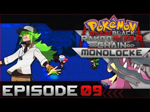 "Pokemon Blaze Black Random Chain-Monolocke |#09| ""Getting rekt"""