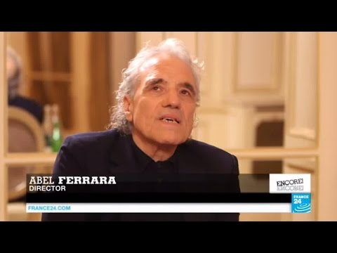 "Cult director Abel Ferrara says ""films have a language of their own"""