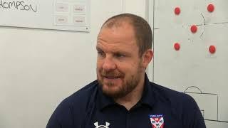 Sam Collins pre-match interview (V Blyth)