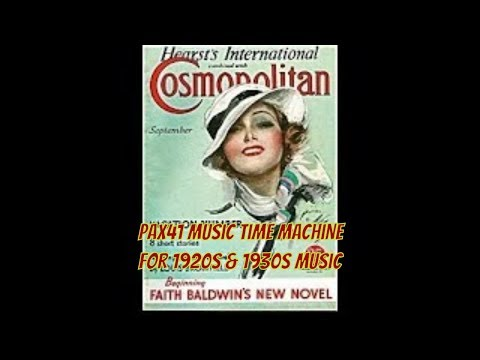 Return To The Past With Vintage British Radio Music Of The 1930s
