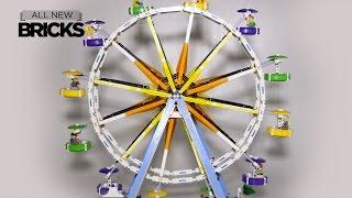 Lego Creator 10247 Ferris Wheel with Power Functions Speed Build